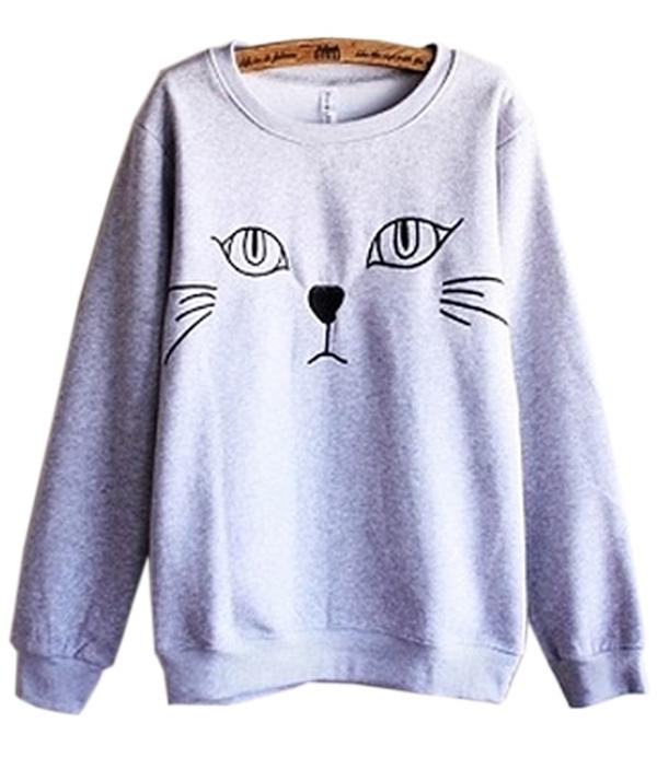 cat-graphic-fleece-sweatshirt