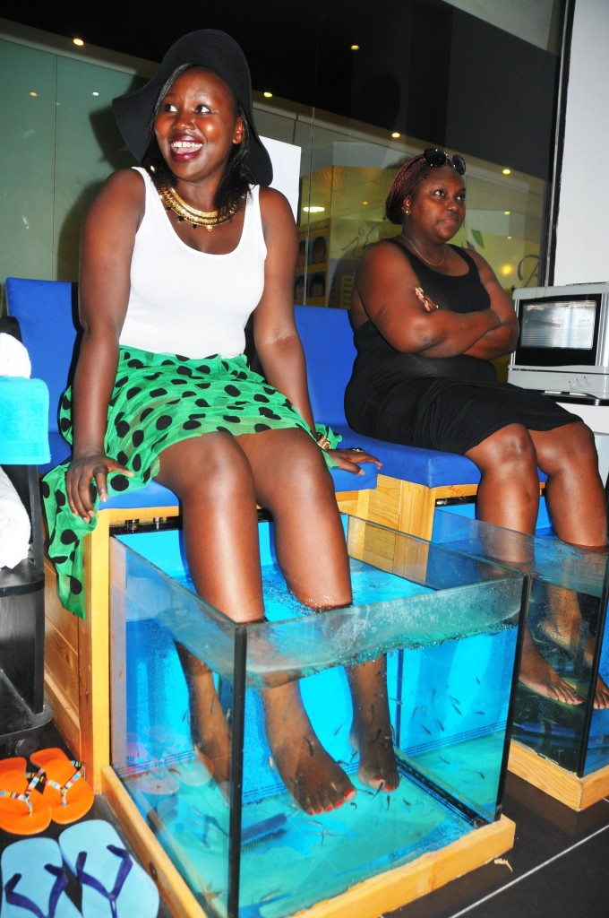 fish pedicure mombasa