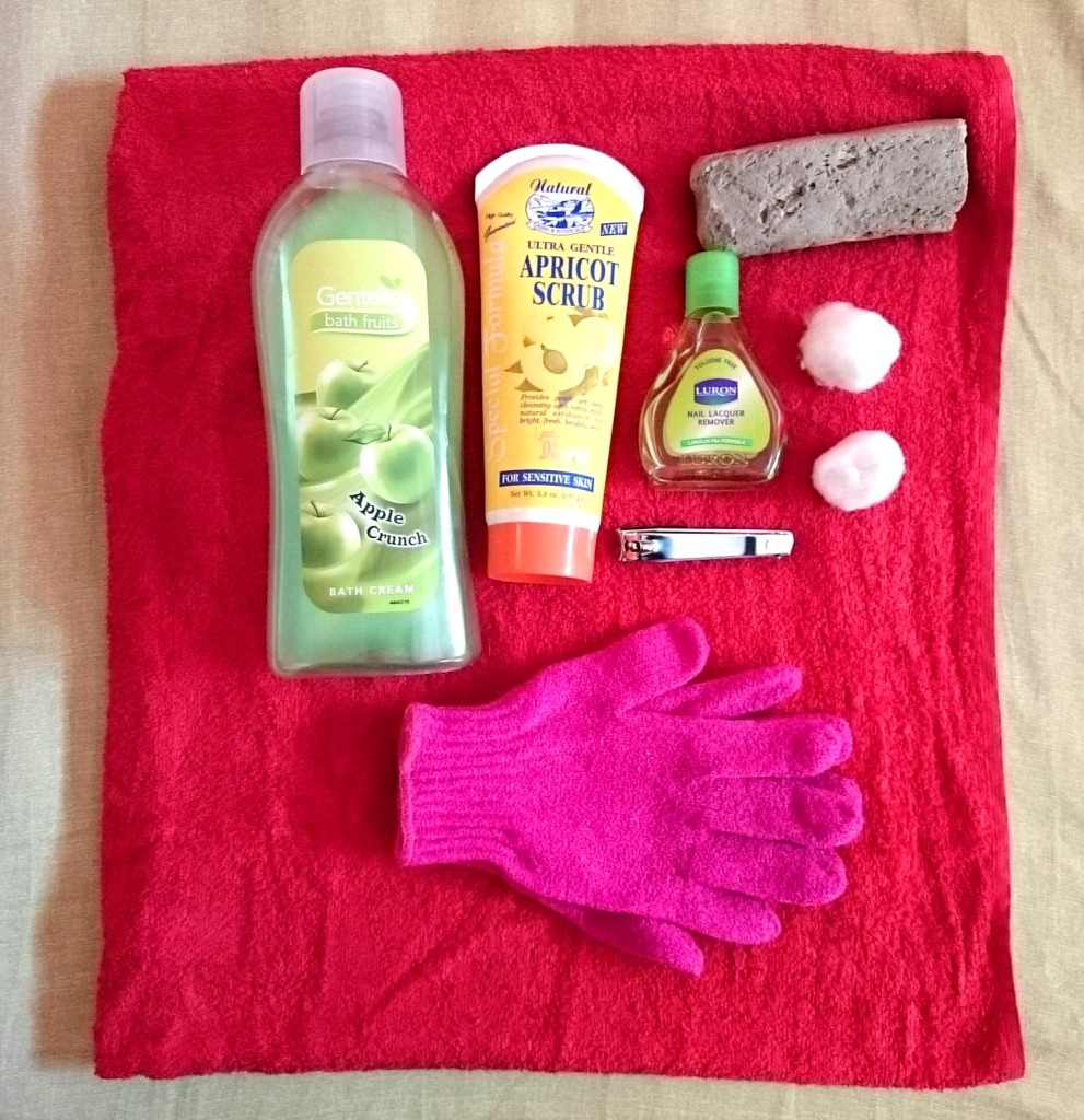 pedicure essentials