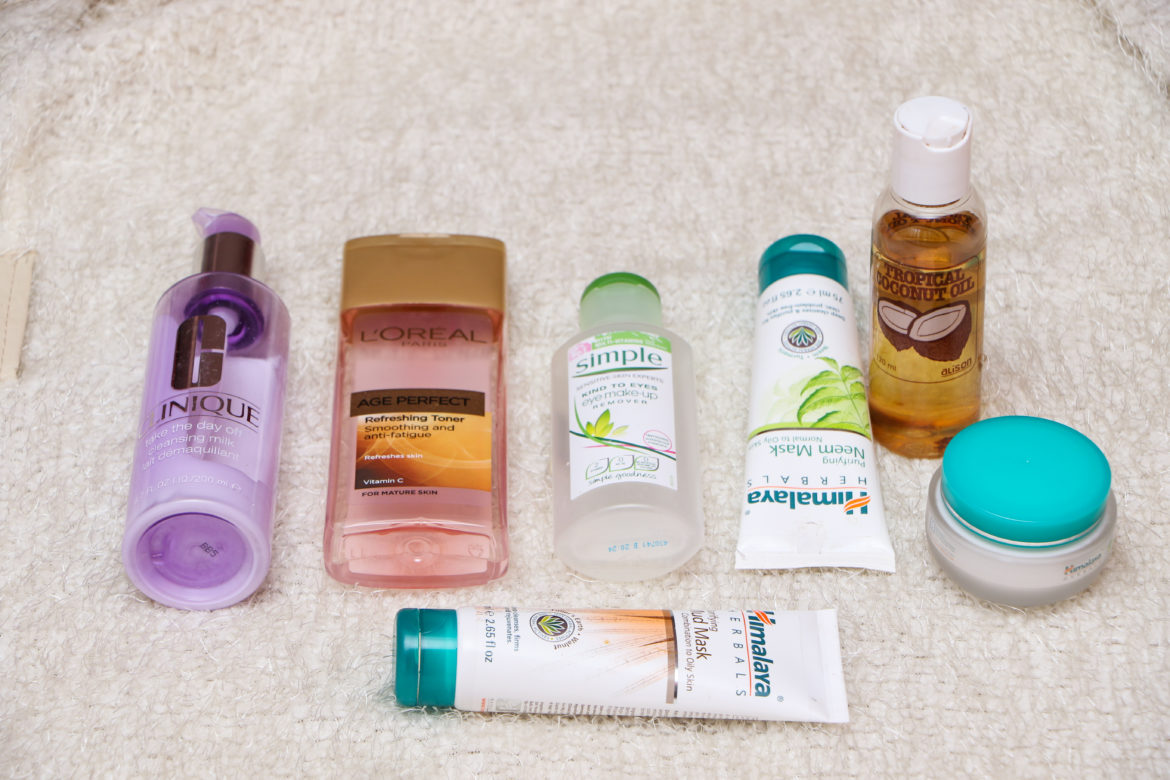 CURRENT SKINCARE/HAIR PRODUCTS ADDITIONS